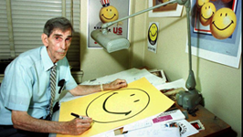 Harvey Ball's smiley